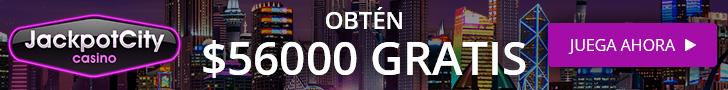 jackpot city argentina obten 56000 pesos gratis de bono